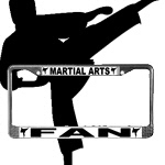 Martial Arts License Plate Frames