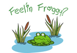 Feel'in Froggy