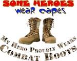 Hero Wears Combat Boots