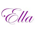 Ella Purple Script