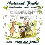National Parks Centennial Cartoon