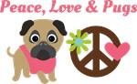 Peace Love and Pugs 2