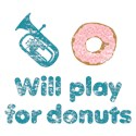 Will Play Baritone for Donuts