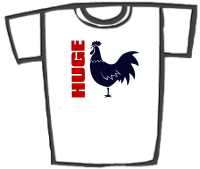 Huge COCK (Rooster) T-Shirts & Gifts