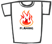 FLAMING! - Gay Pride T-Shirts & Gifts