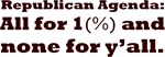 Republican Agenda