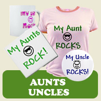 Aunt & Uncle: Tees, Gifts & Apparel