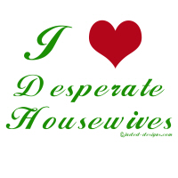 I love Desperate Housewives Shirts
