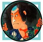 Ukiyo-e - 'Kuniyoshi Warrior'