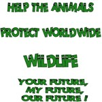 Help the animals - Wildlife gifts