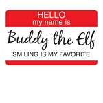 Hello My Name is Buddy the Elf