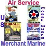 Air Service, Coast Guard and Merchant Marine