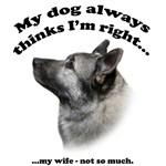 Elkhound v Wife