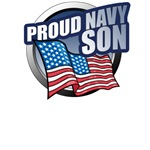 Navy Son T-Shirts