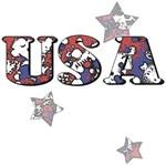 USA Pop Art T-Shirts