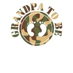 Grandpa To Be (Camo) T-Shirts