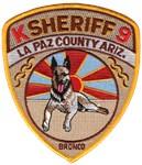 La Paz County Sheriff K9