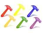 rainbow hammers