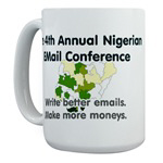 4th Annual Nigerian Email Conference Gear