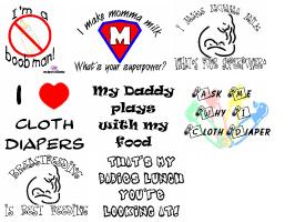 Advocacy Wear (breastfeeding, cloth diapers, etc)
