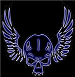 Winged Skulls