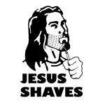 Jesus Shaves