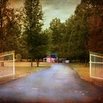 Barn Behind the Gate