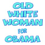 OLD WHITE WOMAN