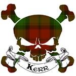 Kerr Tartan Skull