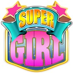 Super Girl - Pink Superhero