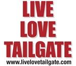 Live Love Tailgate Crimson