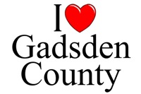 I Love (Heart) Gadsden County, Florida
