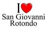 I Love (Heart) San Giovanni Rotondo, Italy