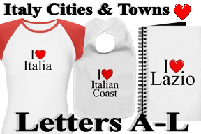 Italy Cities & Towns - Letters A-L