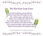 First 4 Leap Years