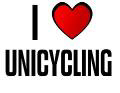 I LOVE UNICYCLING