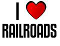 I LOVE RAILROADS