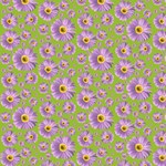 Pop Daisy Purple Pattern