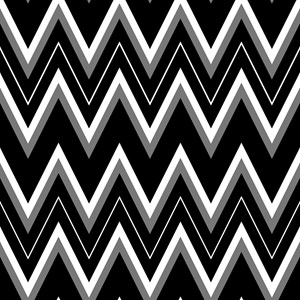 Gothic Chevron Pattern