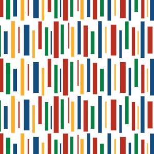 Retro Clowny Lines Pattern