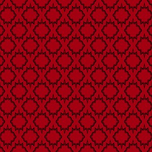Gothic Red Tile Pattern