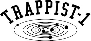 Trappist-1 Planets Athletic Style Lettering