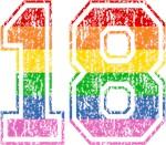 Retro 18 Rainbow