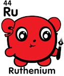 Cute Element Ruthenium Ru