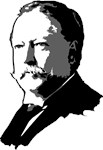 William Howard Taft T-shirts