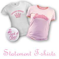 Pink Statement T-shirts