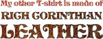 My Other T-shirt is Rich Corinthian Leather