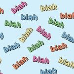 Blah Blah T-shirts, Cards & Gifts