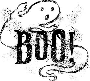 Halloween Ghost Boo