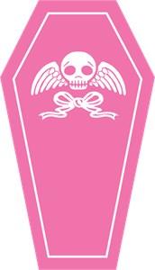 Cute Pink Coffin